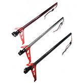 CNC Metal Tail Boom Set With Motor Helicopter Spare Part For XK K130 RC Helicopter