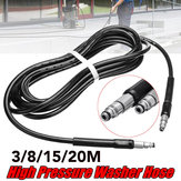 3/8/15/20M High Pressure Washer Water Hose for Black Decker PW1300 PW1400 PW1500