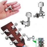 6 pezzi chitarra chitarra accordatura pioli sintonizzatori teste di macchine acustica chitarra elettrica parte