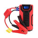 M813800mAhPortableAutoStarthilfe360A Peak Emergency Batterie Booster Powerbank wasserdicht mit LED USB-Anschluss für Taschenlampe