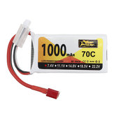 ZOP Power 7.4V 1000mAh 70C 2S Lipo Batterie T Plug für SG 1601 1602 RC Car Wltoys V912 V912 V262 V353 Hubschrauber