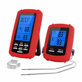 Bakeey Kitchen Food BBQ Thermometer Wireless Dual Channel Digital Display Thermometer