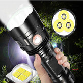 XANES P70 T3U XHP70 LED 5 Mode USB Rechargeable Waterproof LED Senter 18650 Senter 26650 Senter