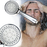 Handheld Pressurized Shower Head Bathroom 4 Modes Ajustable Showerhead