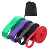 Fitness Yoga Resistance Bands Power Rubber Band Sports Elastic Belt Exercise Tools