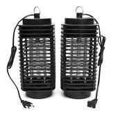 LED Elektrik Sivrisinek Işık Zehirsiz Sinek Bug Böcek Katil Tuzak Lamba 110/220 V için Ev Salon Otel Ofis