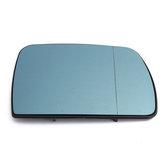 الجانب الأيمن سيارة باب الجناح تسخين مرآة الزجاج الأزرق ملون لسيارات BMW X5 E53 1999-2006