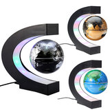 Floating Magnetic Levitation Rotating Globe World Map Ball Kids Birthday Decorations
