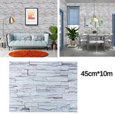 Wood Grain Wall Paper Self-adhesive Waterproof Bedroom Cabinets Dormitory Restaurant Cafe Wall Stickers