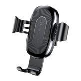 Support de téléphone rapide pour chargeur de voiture rapide sans fil Baseus Qi pour iPhone 8 X Samsung S8 S7 S6