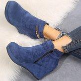 Women Plus Size Slip Resistant Ankle Boots
