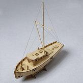 1:30 Bootsmodell Schiffe Nax Fischerbootsmodell DIY Holzmodell Innenministerium Dekorationen
