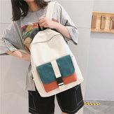 Рюкзак большой емкости для студентов многоцветный Fashion Сумка