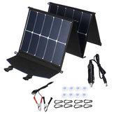 DL-SP65 200 W 18 V Verimli Solar Panel Solar Şarj Polikristal Foladable Type-C Hızlı Şarj Solar Güç Bankası Paneli Telefon Şarj