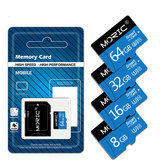 MORIC-geheugenkaart 32GB 64GB 128 GB TF-kaart Smart Card U3 U1 CLASS10 TF Flash Kaart voor Smart Phone Veilige digitale geheugenkaart
