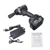 288VF 630N.m Brushless Cordless Electric Impact Wrench 19800mAh Alat Yang Kuat