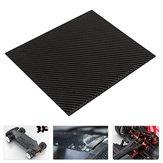 200x300x (0,5-5) mm Czarna płyta z włókna węglowego Płyta panelowa Matowy splot skośny