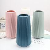 Geometric Nordic Origami Imitation Ceramic Flower Pot Indoor Dining Room Office Decor