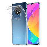 BAKEEY OnePlus 7T Crystal Clear Transparent Ultra-thin Soft TPU Protective Case