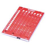 V GOOD ARM-PROGRAM ESC Setting Card For SPINX Brushless ESC
