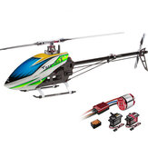 ALIGN T-REX 500X Dominator 6CH 3D Flying RC Hubschrauber Super Combo Mit Brushless 1600KV Motor ESC Digital Servos