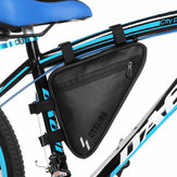 Waterproof Bicycle Front Triangle Bag Mountain Road Bike Tube Frame Tools Pouch