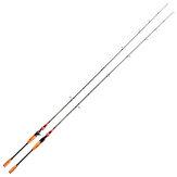 LEO 2 Seção 1.8 / 2.1m Vara de pesca de fiação em fibra de carbono Acessórios para pesca com vara de pesca portátil