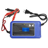 DC12V Portable Smart Car LCD Lead Acid Battery Maintainer Charger For Motorcycle