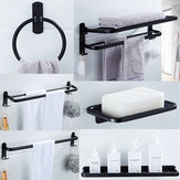 Aluminum Bathroom Shower Caddy Shelf Wall-mounted Rack Organizer Towel Holder