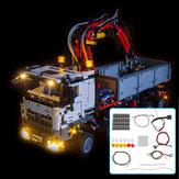 Zestaw oświetlenia LED TYLKO Dla LEGO 42043 Technic Dla Mercedes-Benz Arocs 3245
