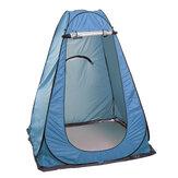 Abrigo de barraca de chuveiro de dobramento portátil Barraca de acampamento ao ar livre Sala de toalete de emergência