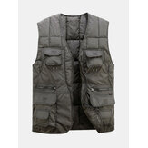 Mannen Tactische functionele Multi Pocket Outdoors warm vest