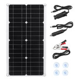 30W 5.5V Monocrystaline Solar Panel Kit USB Waterproof Flexible Solar Charger Controller For RV Car Boat