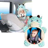 Baby Bagsæder Spejlsikkerheds sæde Bagfra Spejle til bilvisning Spædbarn mod nyfødt dyr