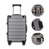 Xmund XD-XL4 20inch/24inch Travel Suitcase PC TSA Locks 360° Universal Wheel Luggage Case