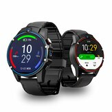 Kospet Vision 1.6 'LTPS Crystal Display 3G + 32G 5.0MP Dubbele camera aan de voorzijde 4G-LTE Videogesprek 800 mAh Google Play Leren band Smart Watch-telefoon