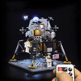 Светодиодное освещение Набор для LEGO 10266 Apollo 11 Lunar Lander Строительный кирпич