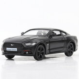1:36 Alloy Matte Ford Mustang Pull Back Retro Diecast Model Car Toy