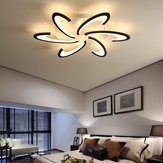 Modern LED Ceiling Light Untuk Living Dining Room Bedroom Pengkilap Led Chandelier
