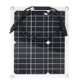 30W 18V Monocrystalline Solar Panel For Motorhome Boat MC4 Connector Waterproof Solar Power Panel