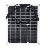 Pannello monocromatico cristallino solare di 30W 18V per la barca a motore MC4 Connettore quadro elettrico impermeabile solare