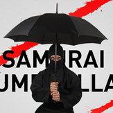 KCASACreativoManicolungoOmbrelloSamurai antivento giapponese Ombrello giapponese a pioggia diritta Manuale aperto