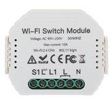 Ασύρματο WiFi Smart Wall Timer Switch Module Work for Alexa For Google Home App