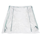3-Tier Portable Greenhouse 6 Shelf PVC Cover Garden Cover Plants Flower House 143X143X195 سنتيمتر
