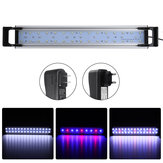 160cm LED Aquário Fish Tank Timing Fish Lights Submersible Planta Grow