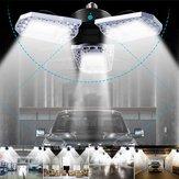 E26 AC100-270V 100W 12000LM Bewegungssensor LED Garage Glühbirne Verformbare Deckenleuchte Keller Beleuchtung