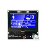 MKS LCD12864B Inteligentny wyświetlacz LCD Inteligentny wyświetlacz Część drukarki 3D
