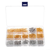 760Pcs/Set Jewelry Making Kit DIY Earring Findings Hook Pins Mixed Handcraft Accessories