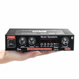 2CH LCD Display HIFI Audio Stereo Endverstärker Bluetooth FM Radio Auto Home Fernbedienung