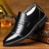 Men Warm Non Slip Formal Shoes